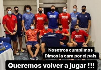 El pedido de los basquetbolistas para el Ministerio de Salud