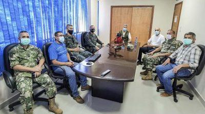 Presidente se reunió con integrantes de la Fuerza de Tarea Conjunta
