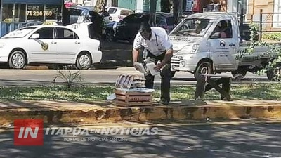 DE GUARDIA DE SEGURIDAD A VENDEDOR DE DULCES