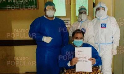 Se recuperó del covid hermano del taxista que pidió medicamentos a Mario Abdo