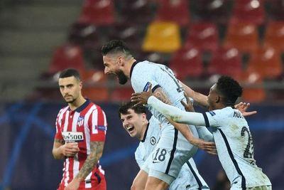 Giroud castiga al Atlético y acerca al Chelsea a cuartos de Champions