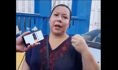 Senadora liberal divulgó que Stiben Patrón derramó agua con lavandina a apoderada que iba a inscribir lista en el TEI del PLRA