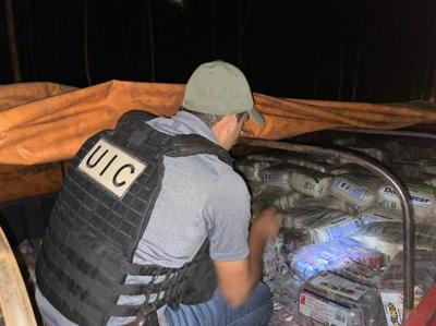 Incautan 12 toneladas de azúcar de contrabando en Caazapá