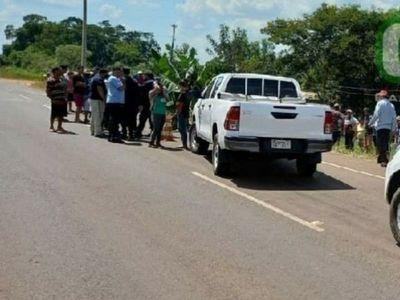Hombre es asesinado en plena vía pública en Yhú