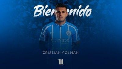 Cristian Colmán, presentado oficialmente en Godoy Cruz