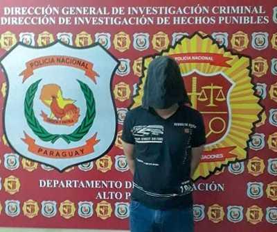 SUGESTIVA detención de brasileño con orden de captura en el Brasil