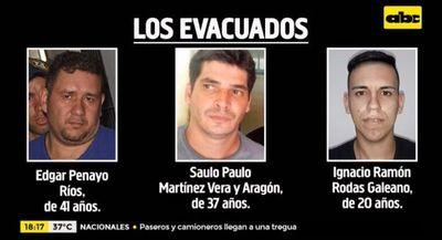 Tres miembros del PCC fueron evacuados de Tacumbú ante amenazas del clan Rotela