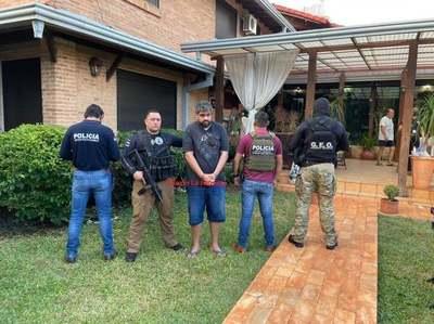 Detienen a NARCO en el Paraná Country Club