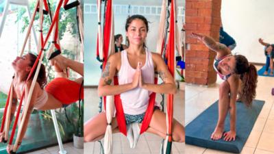 """""""Hoy en día encuentro un goce gratificante en el yoga"""""""