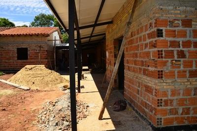 Avanzan obras en el Centro de Salud de Santa María, Misiones que asiste a más 8.000 personas