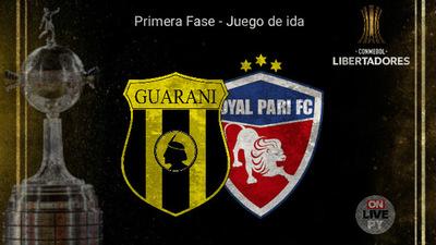 Guarani se presenta en Copa