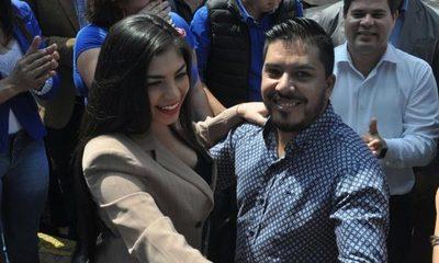 """Diputado Portillo aguará por candidatura de su novia: """"Es muy guapa y tiene arranque"""""""