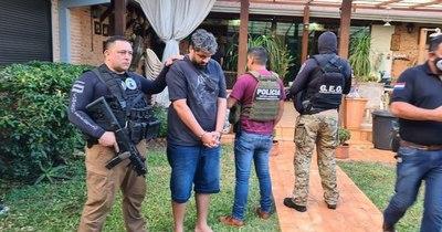 La Nación / Capturan en Hernandarias a un traficante de drogas buscado por Brasil