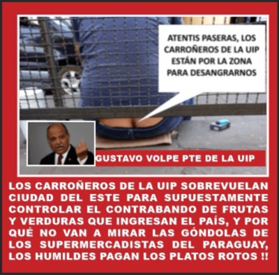SOBREVUELAN LOS CUERVOS DE LA UIP POR CIUDAD DEL ESTE PARA ACHACAR