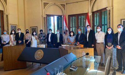 Promotores de la bicisenda más larga de Sudamérica se reunieron con autoridades