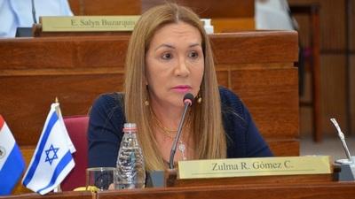 """Zulma Gómez: """"Efraín es un delincuente y su lugar está en Tacumbu""""."""