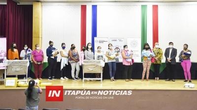 DÍA DE LA MUJER PARAGUAYA FUE CONMEMORADO EN LA GOBERNACIÓN DE ITAPÚA