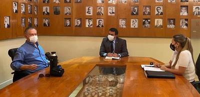 Presidente del JEM se reunió con el Ministro de Hacienda