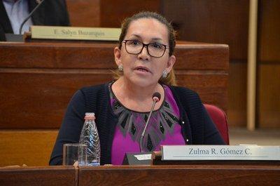 Efraín Alegre es un gran delincuente y debe estar en Tacumbú, dice Zulma Gómez