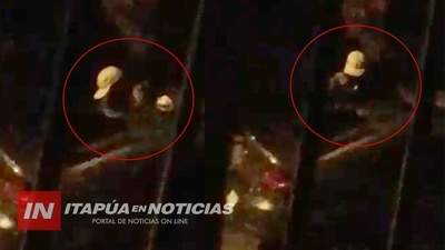 CAPTAN A TORTOLEROS EN ACCIÓN EN ENCARNACIÓN