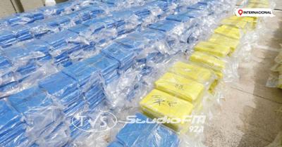 Alemania incauta más de 16 toneladas de cocaína procedentes de Paraguay