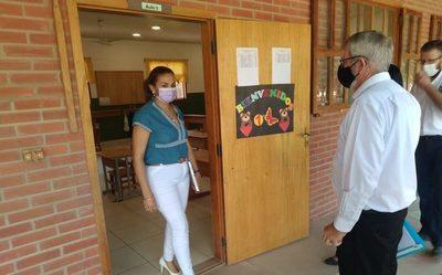Retoman clases presenciales en el CENEDIN cumpliendo con el protocolo Sanitario