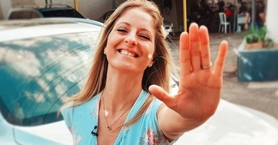 Gise Cassettai felicita a las paraguayas y afirma que es consciente que hoy no es su día