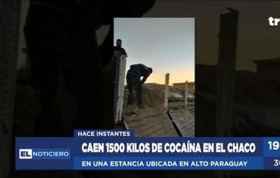 Chaco: incautan 1.500 kilos de cocaína y detienen a 8 personas
