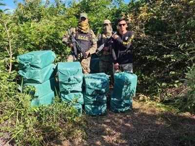 Decomisan unos 1.400 kilos de cocaína en el Chaco