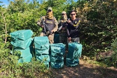 Policía incauta más de 1500 kilos de cocaína en Alto Paraguay