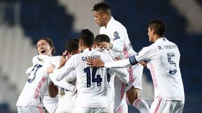Real Madrid vence agónicamente al Atalanta
