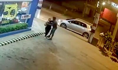 Brutal agresión a una mujer por su ex pareja Paulo Sergio Samudio Sanabria.