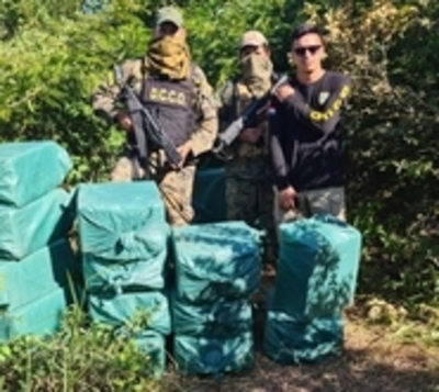 Cae más de 1.000 kilos de cocaína en el Chaco