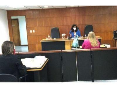 Con declaración de fiscala Alcaraz siguió juicio oral a Víctor  Bogado