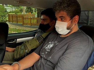 Capturan a presunto narco brasileño