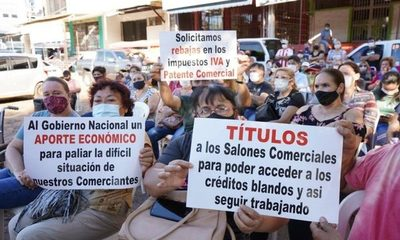 Abdo Benítez rechazó ley de subsidios para comerciantes fronterizos