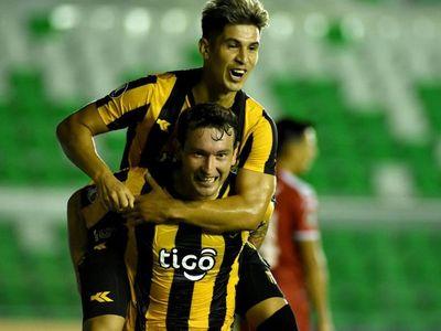 Los goles de la aplastante victoria guaraní