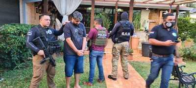 Detienen en el Paraná Country Club a capo narco brasileño buscado en su país
