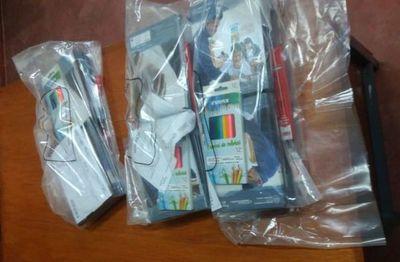Algunos departamentos del país siguen sin recibir kits de útiles a solo días del inicio de clases