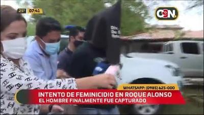Brutal agresión a mujer en MRA: Potencial feminicida llegó a la fiscalía