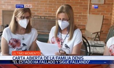 Hijas de Denis recurren a la ONU para rescate de su padre
