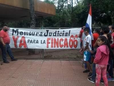 Pobladores de varios barrios de CDE exigen la mensura de la Finca 66 – Diario TNPRESS
