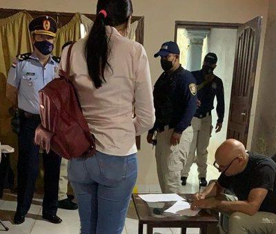 Allanan casa de capitán de Bomberos Voluntarios acusado de extorsión