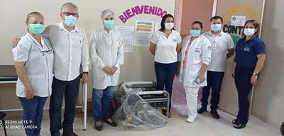 Entregan generador portátil al Hospital de Caazapá