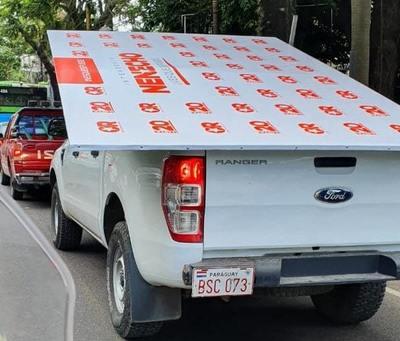 Nenecho habla de sumario tras uso de camioneta de comuna en campaña