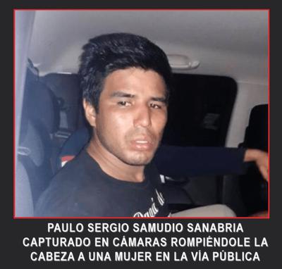 PAULO SERGIO SAMUDIO SANABRIA GOLPEADOR, ASESINO