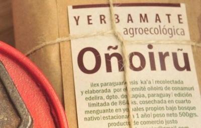 Oñoirũ, la yerba mate agroecológica de exportación presenta nueva partida