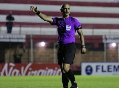 Superclásico: Éber Aquino fue designado como árbitro para el domingo