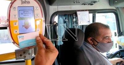 La Nación / Pasaje electrónico: se registraron 2.825.292 viajes en la primera semana