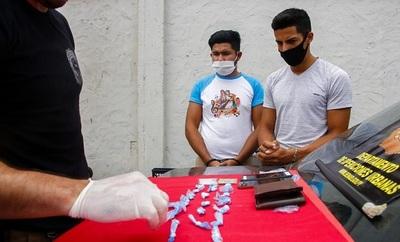 Capturan a proveedores de cocaína al menudeo en San Bernardino